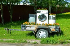 old junk appliances